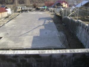 Fundamentet er klar til bygningen