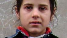 Daniela 9 år og med nyt syn!