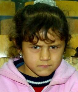 Mens Daniela endnu kunne se - 6 år gl.